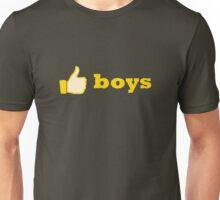 like boys Unisex T-Shirt