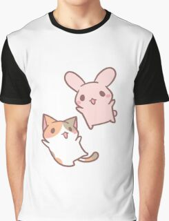 kitten and bunny  Graphic T-Shirt