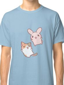 kitten and bunny  Classic T-Shirt