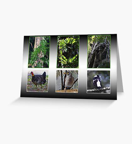 Biodiversity in Caldera Greeting Card