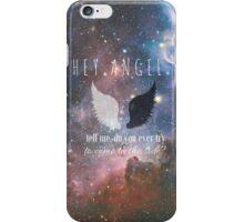 Hey Angel iPhone Case/Skin