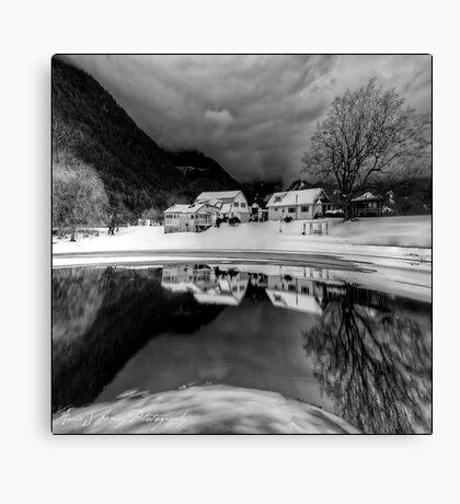 Winter's Edge Canvas Print