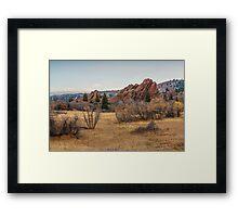 Roxborough Winter Framed Print