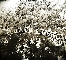 The William Ganong aka 'Butler' Cemetery by gjameswyrick