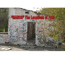 """""""MANOS"""" The Locations of Fate """"2"""" Photographic Print"""