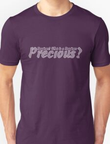 What is a Bagginses? (White) T-Shirt