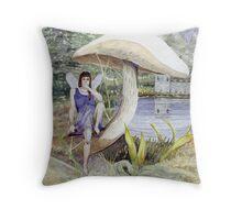 Shade Fairy Throw Pillow