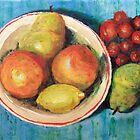 Just a Small Bowl of Fruit by Jim Phillips