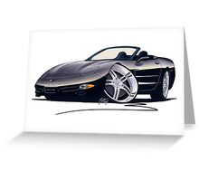Custom Corvette C5 Greeting Card