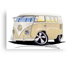 VW Splitty (11 Window) Camper Canvas Print