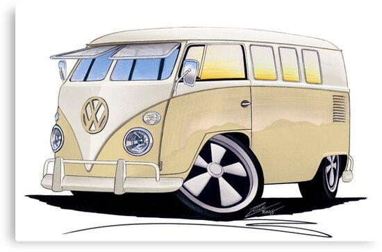 VW Splitty (11 Window) Camper by Richard Yeomans