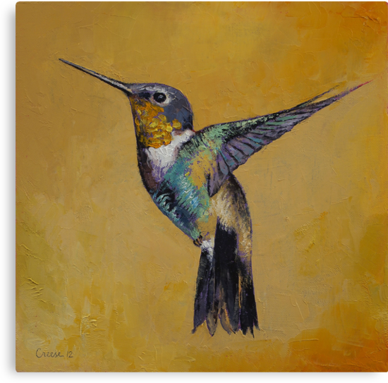 Hummingbird by Michael Creese