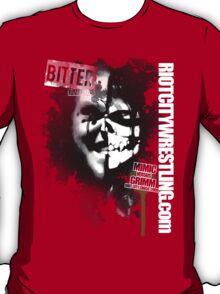 Bitter Rivals 2: Mimic v Grimm circa: 2009 Black and White T-Shirt