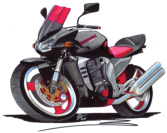 Kawasaki Z1000 by Richard Yeomans