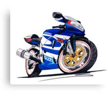 Suzuki GSX-R750 Canvas Print