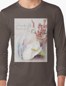 Keep peace in your soul Long Sleeve T-Shirt