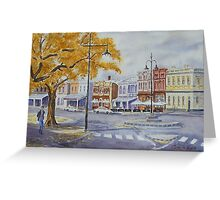 Nelson Place 2, Williamstown Greeting Card