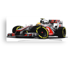 F1 2012 - McLaren MP4-27 - Lewis Hamilton Canvas Print