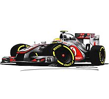 F1 2012 - McLaren MP4-27 - Lewis Hamilton Photographic Print