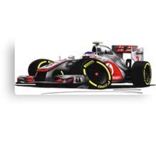 F1 2012 - McLaren MP4-27 - Jenson Button Canvas Print