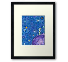 The Cosmic Little Prince Framed Print
