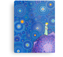 The Cosmic Little Prince Metal Print