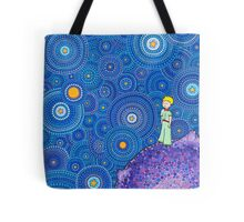 The Cosmic Little Prince Tote Bag
