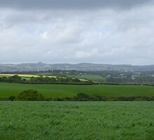 St Austell Bay Panorama by jonleonard