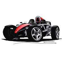 Ariel Atom Red Photographic Print