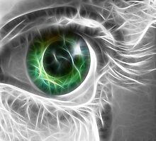 Green eye by neoart