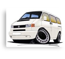 VW T4 White Canvas Print