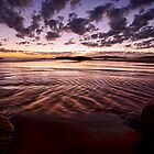 Ripples - South West Rocks NSW by Malcolm Katon