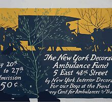 The New York Decorators Ambulance Fund5 East 48th Street by New York interior decorators for our boys at the frontEvery cent for ambulances & trailers by wetdryvac