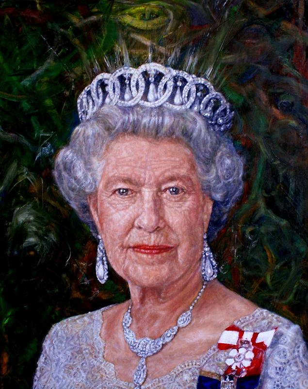 HM The Queen by Edward Ofosu