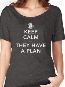 Keep Calm there are Cylons Women's Relaxed Fit T-Shirt