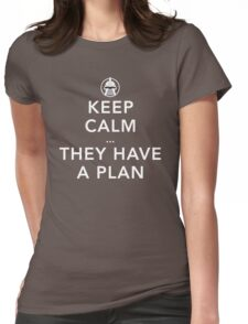 Keep Calm there are Cylons Womens Fitted T-Shirt