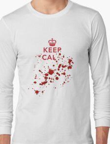 Keep cal... Long Sleeve T-Shirt