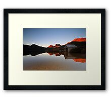 Reflections of Cradle Mountain Framed Print