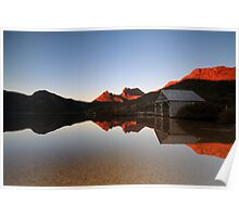 Reflections of Cradle Mountain Poster