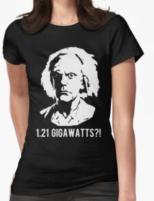 1.21 Gigawatts?! Womens Fitted T-Shirt
