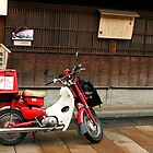 Japanese Postman's Motorcycle by lorenzoviolone