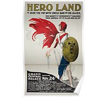 Hero land or over the top with Uncle Sam and his allies 002 Poster