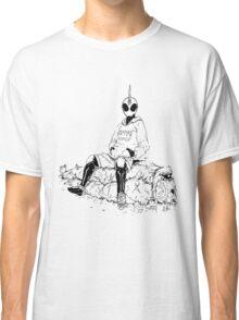 Saitama X Kamen Rider Ghost Classic T-Shirt