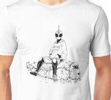 Saitama X Kamen Rider Ghost Unisex T-Shirt