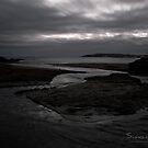 Bovisand Beach towards the Sound by Simon R. Court