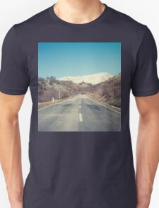 Road with mountain Unisex T-Shirt