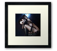 The Introvert - Self Portrait Framed Print