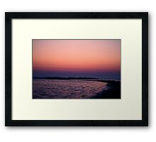 Waking up is Hard Framed Print