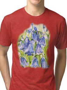 BLUEBELL TEE SHIRT/BABY GROW/STICKER Tri-blend T-Shirt