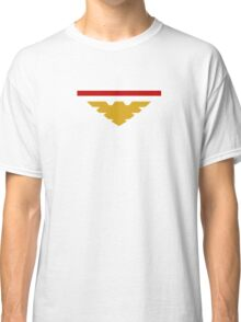 Shepard N7 stripes and Archangel symbol Classic T-Shirt